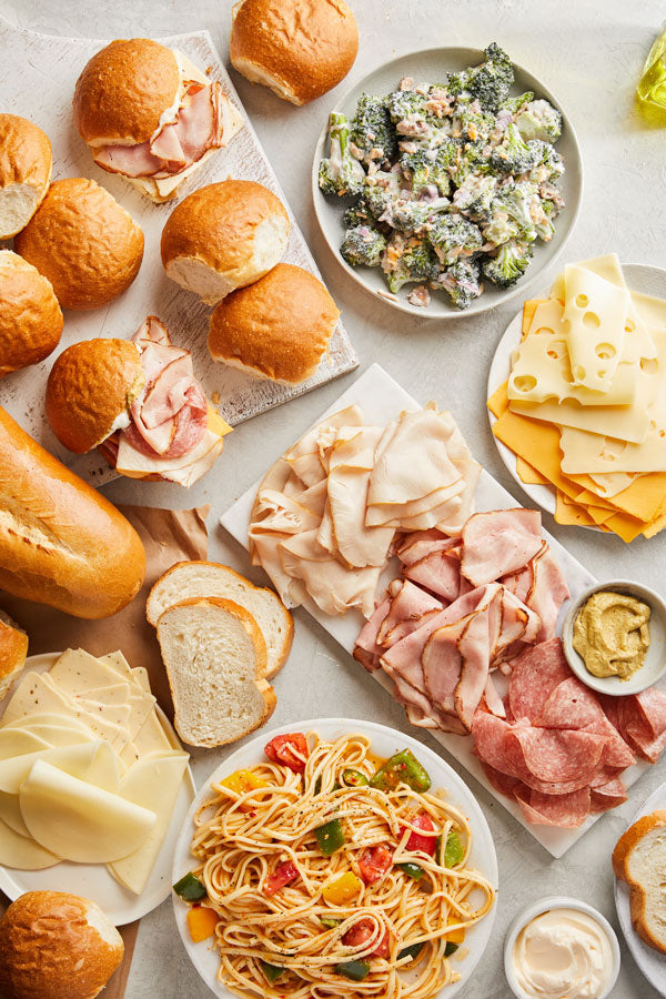 Classic Deli Meats & Cheeses with Salad - Pick Up 'N Go Bag