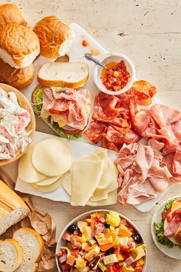 Italian Deli Meats & Cheeses with Salad - Pick Up 'N Go Bag