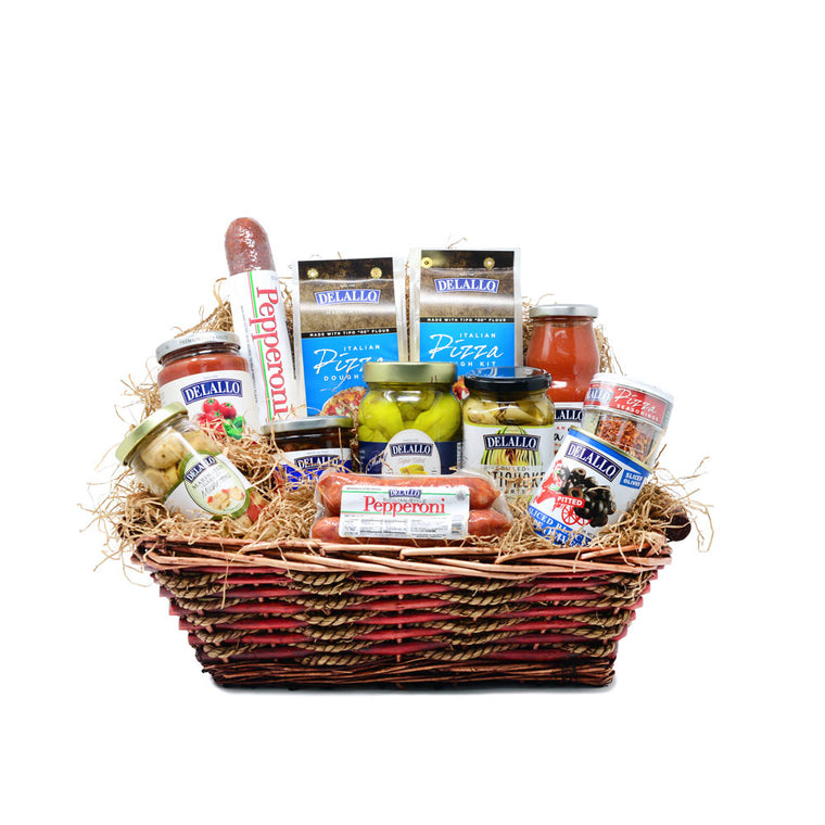 $59 Pizza Night Gift Basket