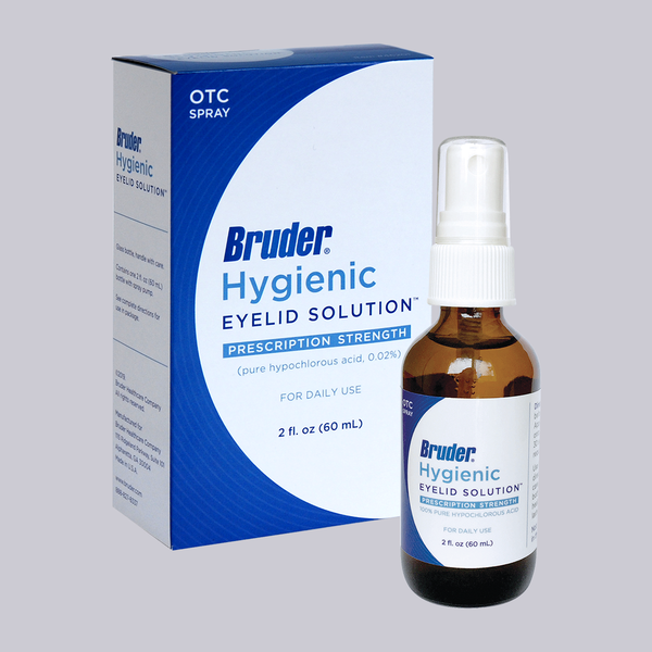 BRUDER Hygienic Eyelid Solution 2 fl. oz. (60mL)