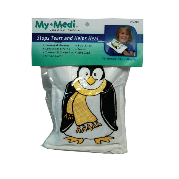 MY-MEDI Cold Compress Penguin, puppet-like design, soothing cold for children, First Aid Cold Compress for Children