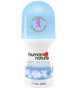 Human Nature Premium Deodorant Roll On 50ml - www.healthfreakstore.com