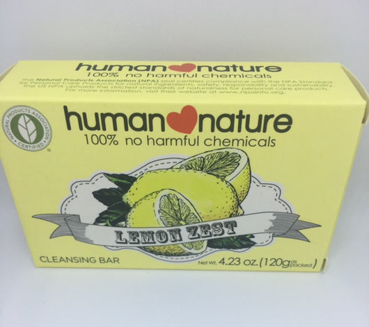 Human Nature Lemon Zest Soap 120g