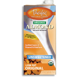 Pacific Milk - Almond Unsweetened (Organic) 946ml - www.healthfreakstore.com