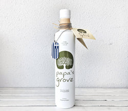 Papa's Grove Superior Greek Extra Virgin Olive Oil 250 ml - www.healthfreakstore.com
