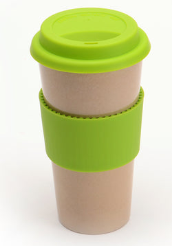 Eco-friendly Husk'sWare Tall Coffee Mug - Green - www.healthfreakstore.com