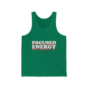 Focused Energy (W) Unisex Tank Top