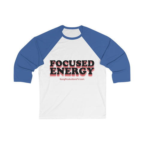 Focused Energy (B) Unisex Baseball Tee