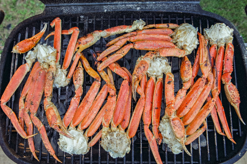 Grilled Crab with Amplify Butter