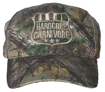 Hardcore Carnivore Real Tree camo hat