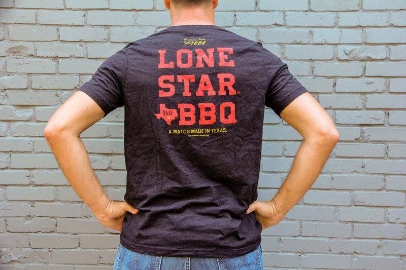 Official Lone Star BBQ shirt