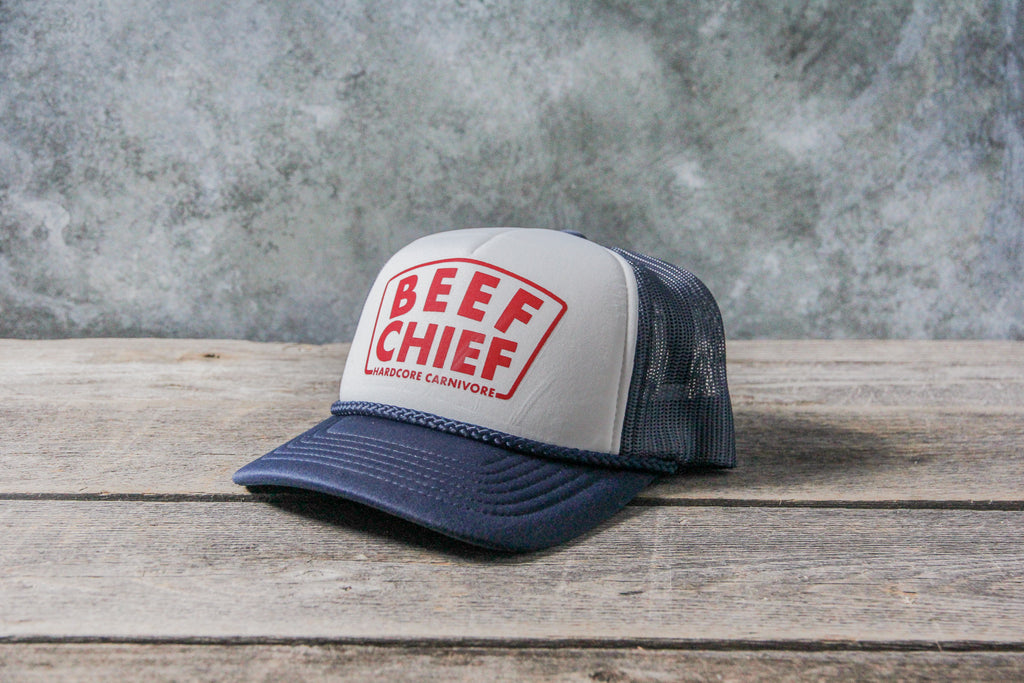 Beef Chief foam trucker mesh back cap
