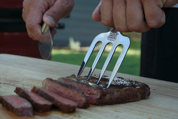 Hardcore Carnivore Steak Carving Fork