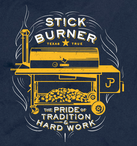 "BBQ ""Stickburner"" t-shirt"