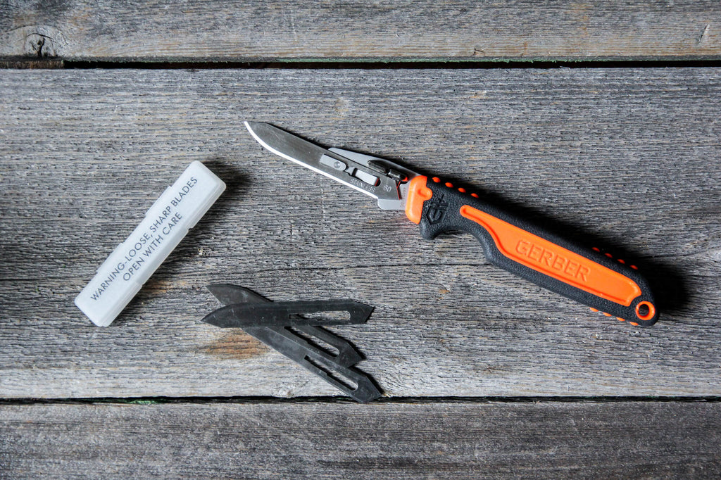 Gerber replaceable blade Vital knife