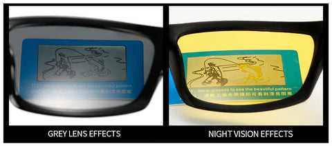 Black Flames Night Vision Frames