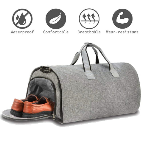 Convertible Carry-on Duffel 2-in-1 garment Bag