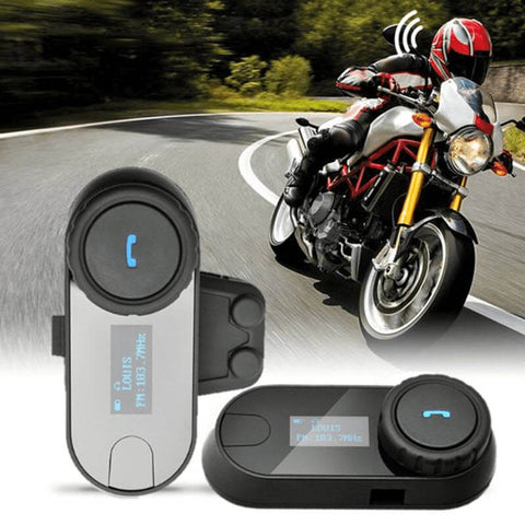 FreedConn™ Waterproof Bluetooth Intercom Headset 800m