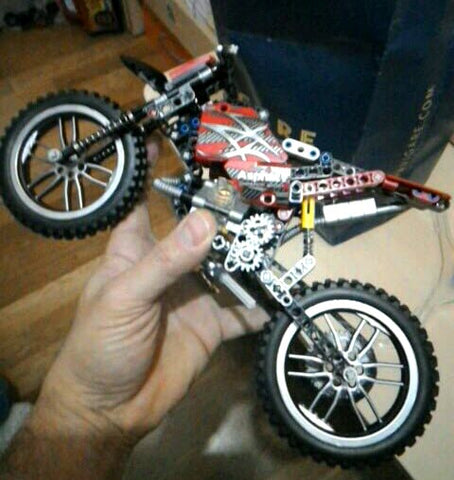 Motocross Bike Building Blocks
