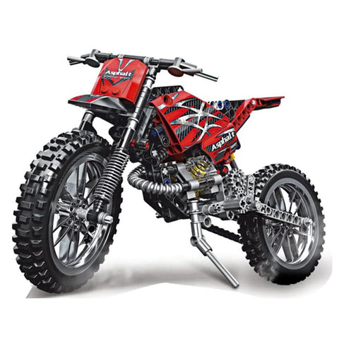 Motocross Bike Building Blocks 253pcs