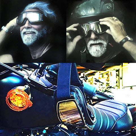 Retro Jet motorcycle Goggles - Family Avenue