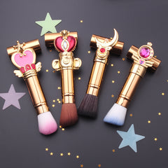 Gold Sailor Moon Makeup Brushes