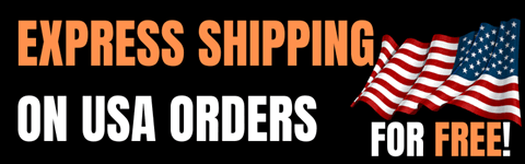 Free express shipping for USA orders