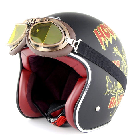 'Bad Guy' Retro 3/4 SOMAN™ Helmet