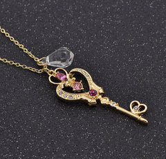 Chibiusa Space Time Key Necklace