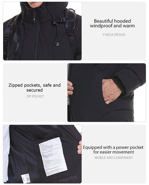 USB Powered Heated Coat
