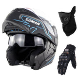 The Ultimate Biker Bundle - Bluetooth Helmet, Gloves & Mask