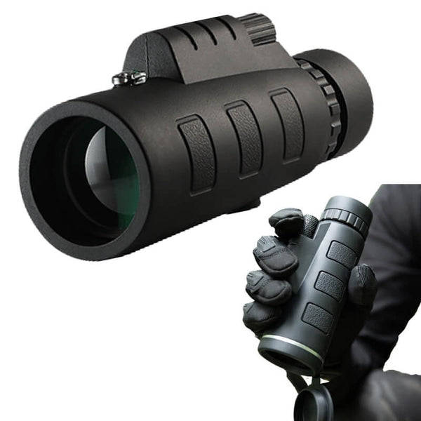 Military-Grade 10-40X Magnification Monocular Telescope