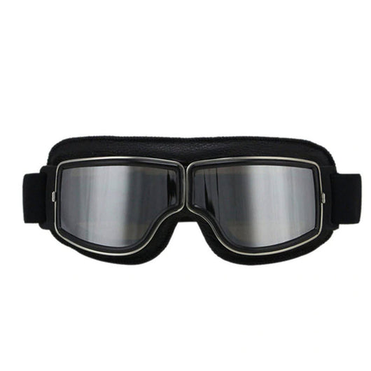 Retro Jet Black Goggles