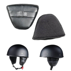 Removable Protective Ear Pads for Open Helmet
