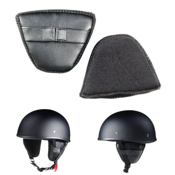 Removable Protective Ear Pads for Half Helmet