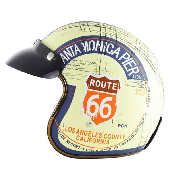 'Route 66' Open Helmet