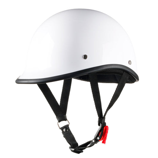 Lightest Low Profile Polo Style Helmet - Gloss White