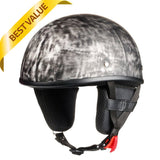 Smallest Strongest Rust Black Beanie Helmet / No Peak