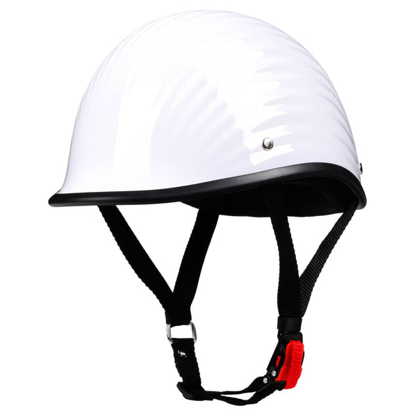 Lightest Low Profile Polo Style Twister Helmet / Gloss White