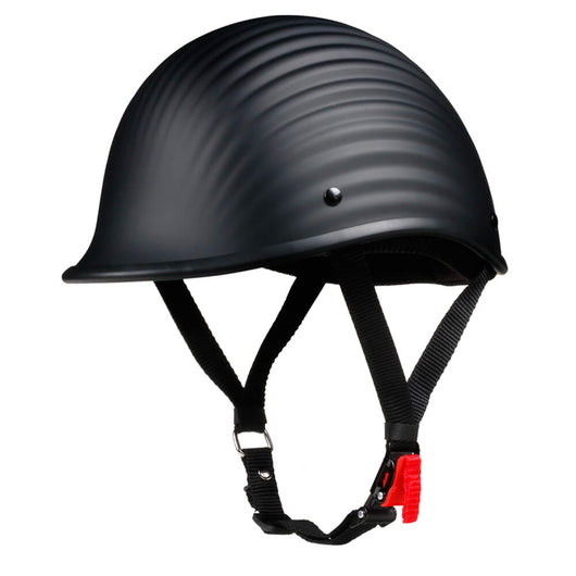 Lightest Low Profile Polo Style Twister Helmet - Matte Black