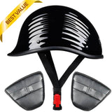 Lightest Low Profile Polo Style Twister Helmet / Gloss Black