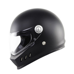 Supermotard Phoenix Racing Helmet - Matte Black