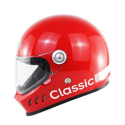 Supermotard Phoenix Racing Helmet - Red