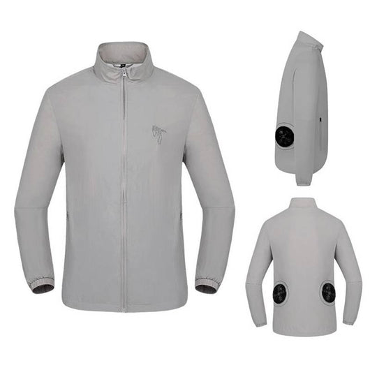 USB Powered Cool Airflow Jacket - Solid