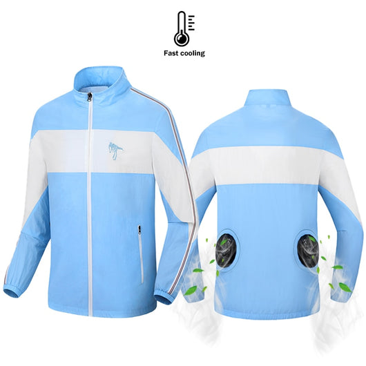 USB Powered Cooling Airflow Jacket