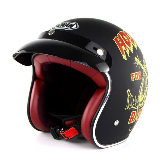 Family Avenue 'Bad Guy' Retro 3/4 SOMAN™ Helmet