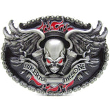 Family Avenue Biker To The Bone Belt Buckle