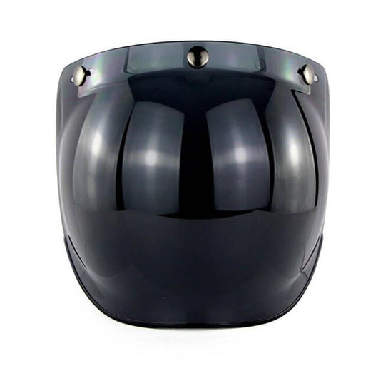 Family Avenue Bubble Visor for SOMAN™ SM-512 Helmet Smoke