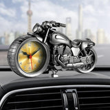 Family Avenue Classic Motorcycle Clock