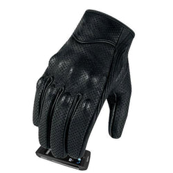 Family Avenue Premium Goatskin Motorcycle Gloves